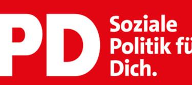 """Slogan """"Soziale Ploitik für dich"""""""