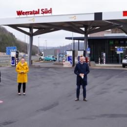 Tank und Raststätte Werratal-Süd in Herleshausen